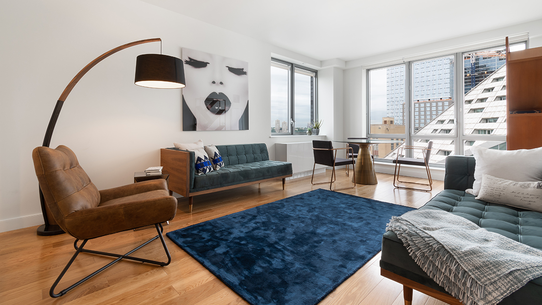 606 w 57th st the max living room