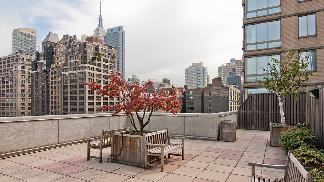 200 w 26th st chelsea centro roof deck