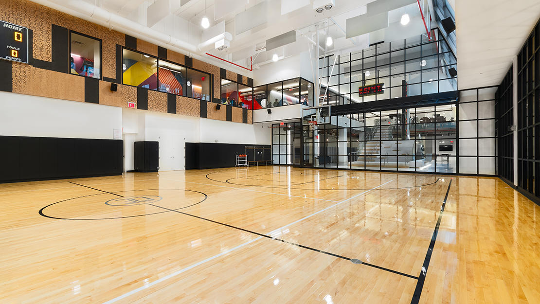 606 w 57th st the max basketball court